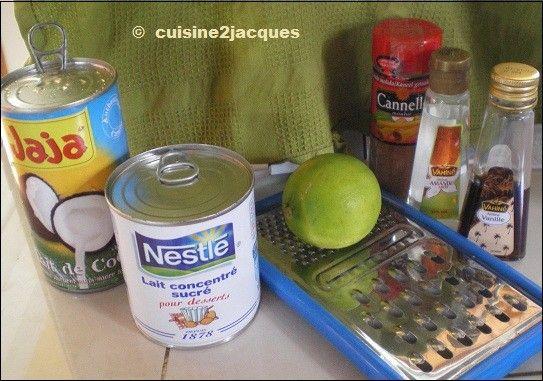 Recette glace guadeloupe - Cours de cuisine en guadeloupe ...