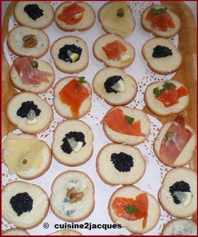 Mes toasts pour la f te 2 2 for Canape aperitif marmiton