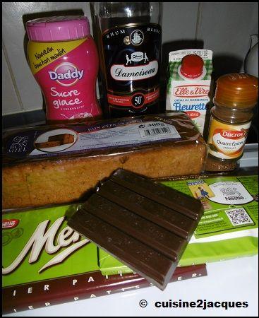 Buche Pain D Epices Et Chocolat 1 8